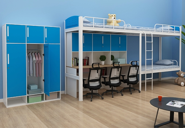 学校家具-三人床
